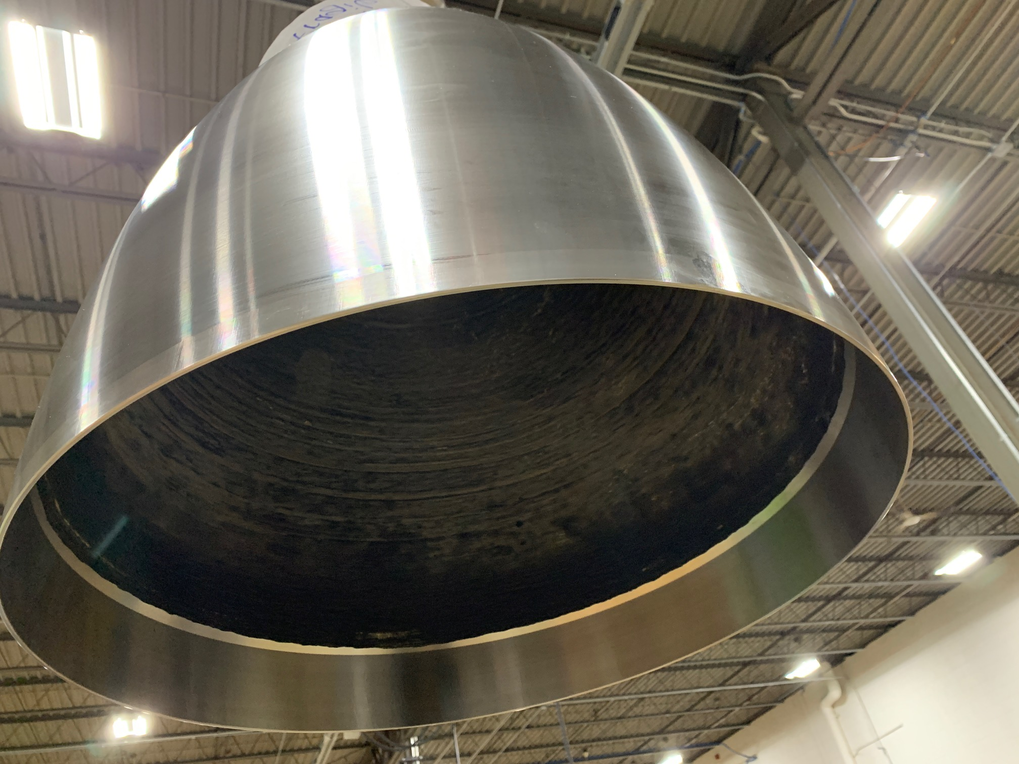 ADDere's full sized rocket thrust chamber assembly. Photo via ADDere.