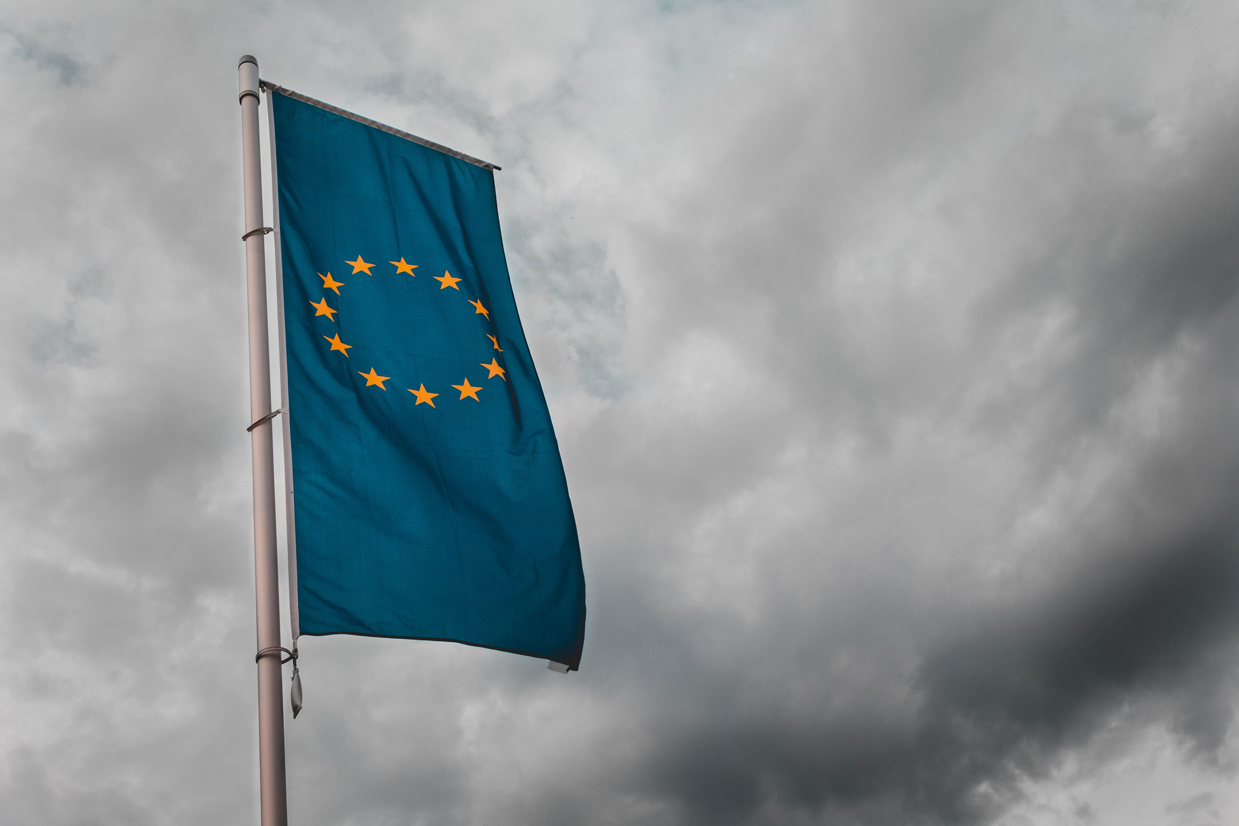 European Union flag. Photo via Sara Kurfeß on Unsplash
