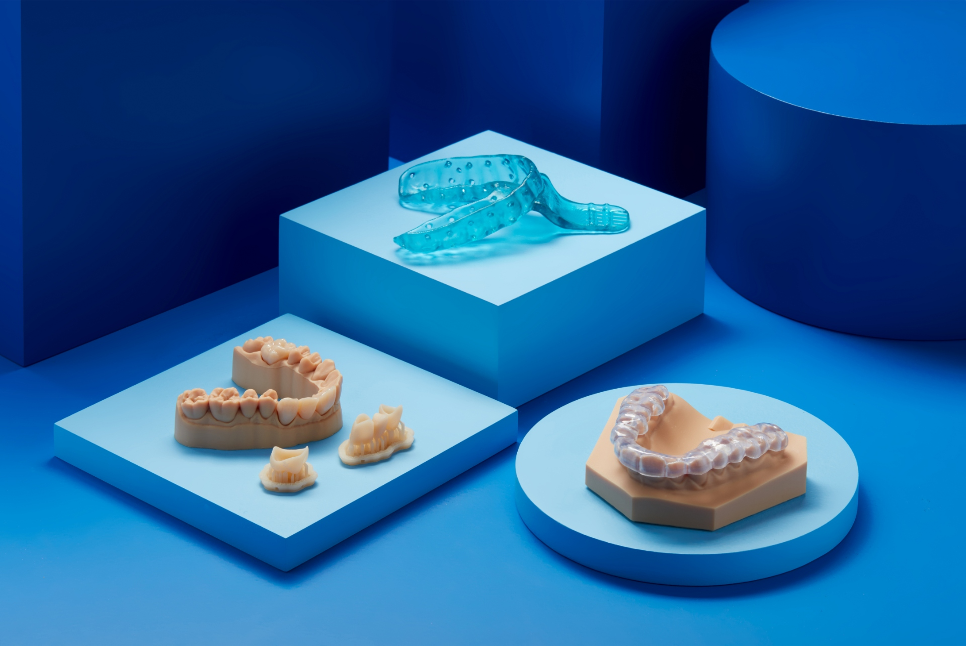 Formlabs' new dental resins. Photo via Formlabs.