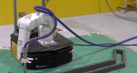 Featured image shows the single-robot industrial platform developed by the Singapore-based researchers. Image via The Institute of Electrical and Electronic Engineers.