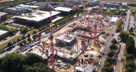 One of French firm Bouygues Travaux Publics' construction sites. The company's director was part of the research project team. Image via Bouygues Travaux Publics.
