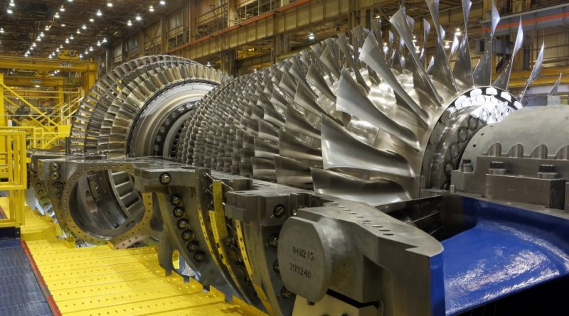 Gas turbine engine components require high tensile strength and creep resistance. Photo via GE.