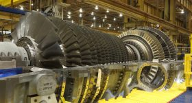 Gas turbine engines typically have Waspaloy components. Photo via GE.