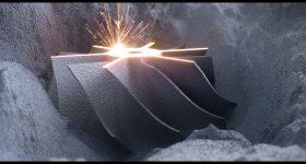 Metal LB-PBF 3D printing. Image via DMG MORI.