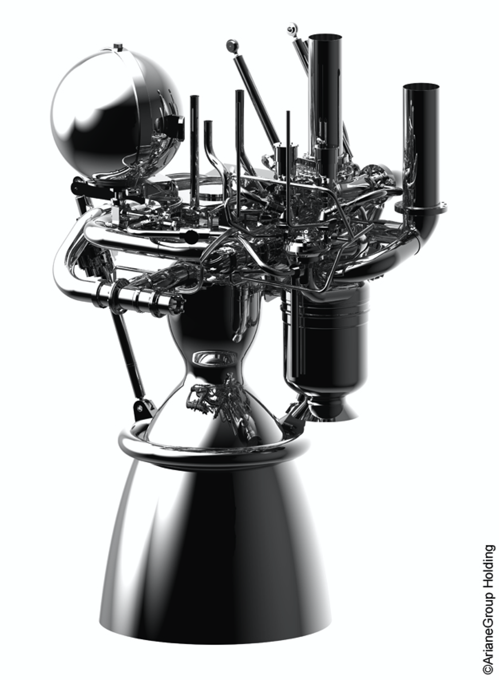 The Prometheus engine. Photo via ArianeGroup.