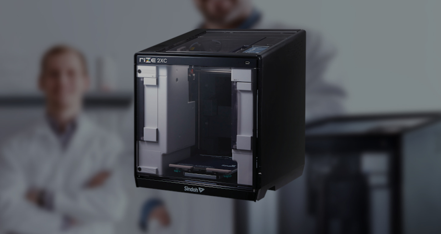 RIZE 2XC 3D printer. Photo via RIZE.
