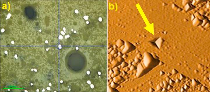 The nanoindentation test. Image via I-Form Research Centre.
