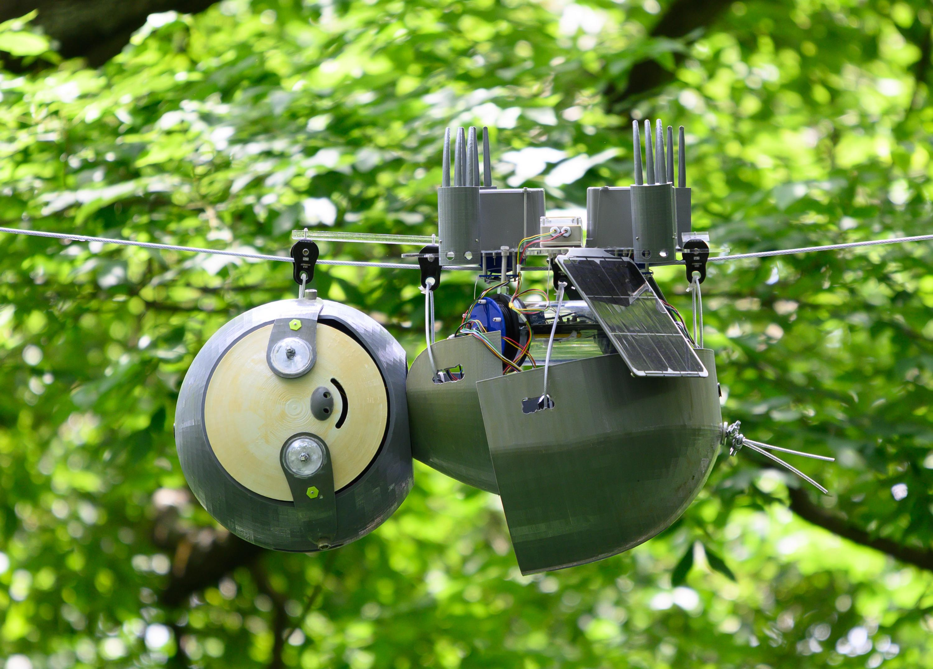 This robotic sloth with 3D printed components helps to preserve the Atlanta Botanical Backyard