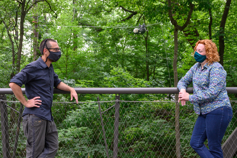 Georgia Tech - Atlanta Botanical Garden Collaboration. Photo via Georgia Institute of Technology.