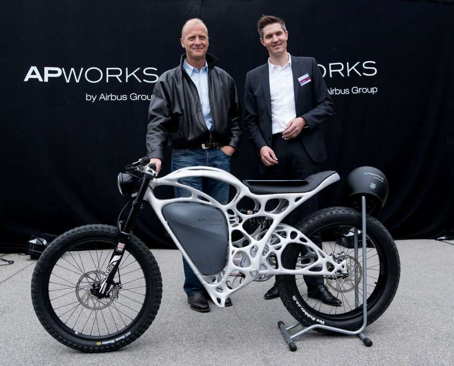 APWORKS has previously topologically optimized a bike. Photo via APWORKS.