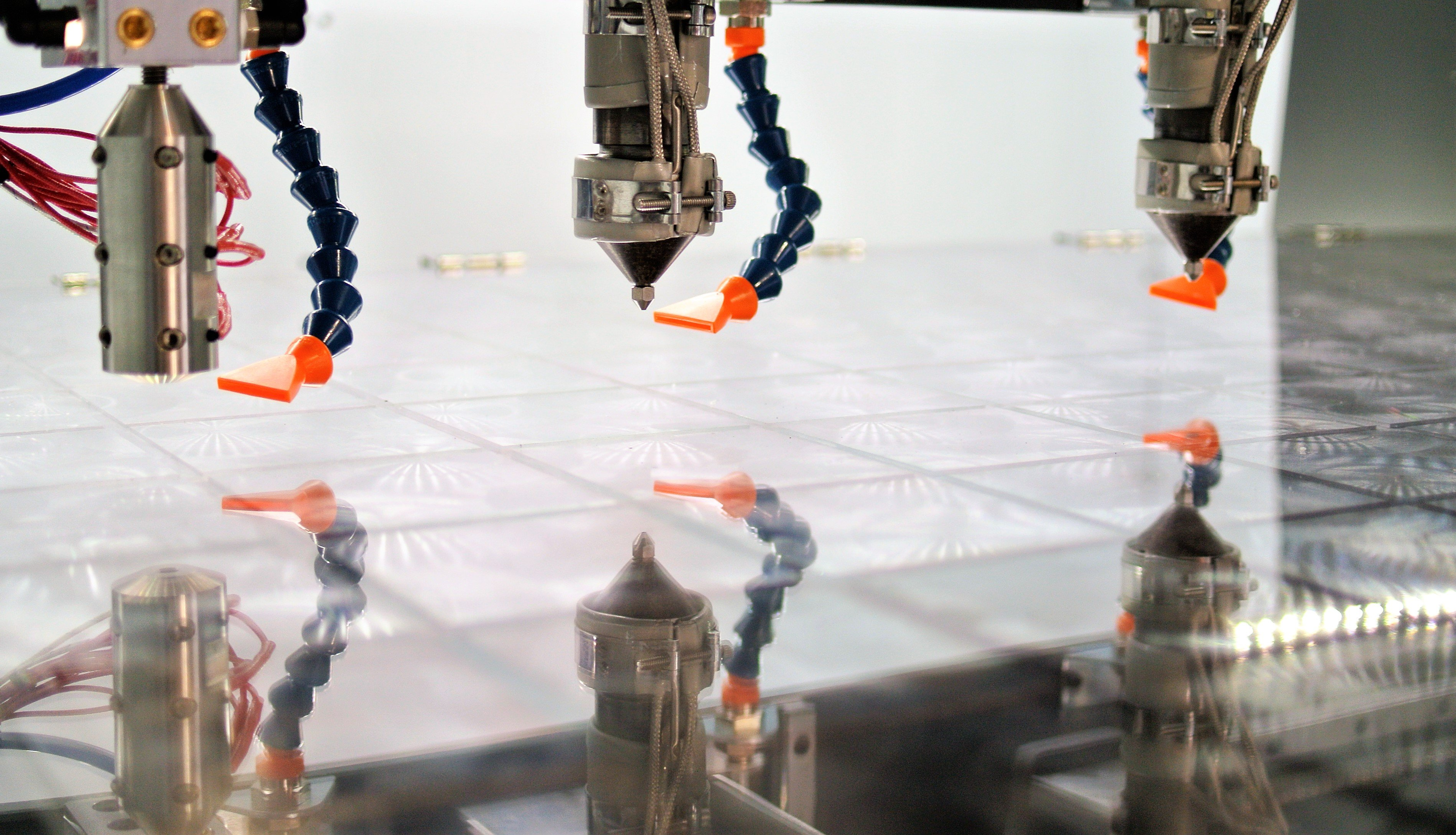 The newly-launched PP pellets are the first materials to be designed specifically for Titan's Atlas 3D printing process (pictured). Photo via Titan Robotics.