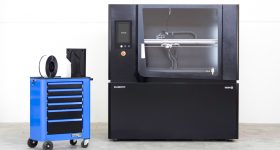 The ELEMENTO 3D printer. Photo via Fabbrix.