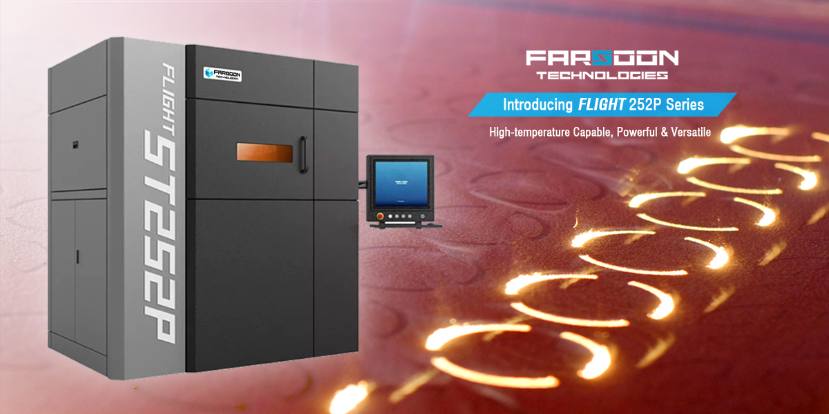 Farsoon debuts its Flight 252P 3D printer and two new industrial polymers