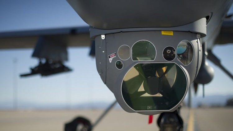 Raytheon has previously worked on aerial sensors for the Air Force. Photo via US Air Force.
