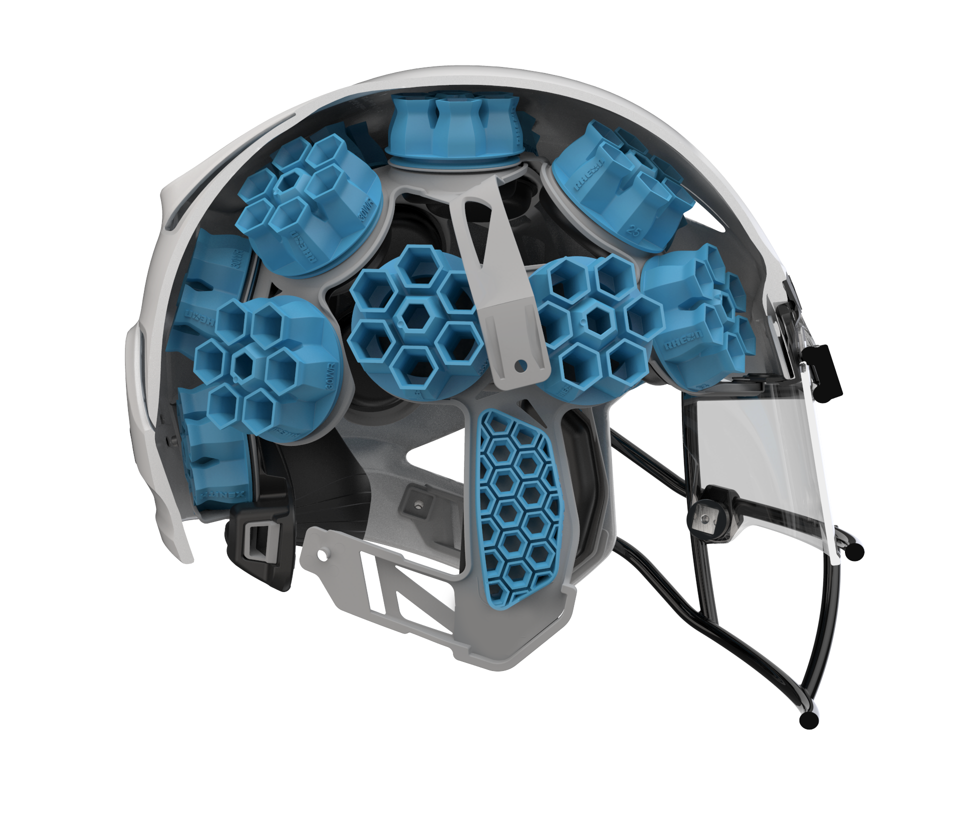 EOS and BASF 3D printed designs awarded $1.37m NFL Helmet Problem funding