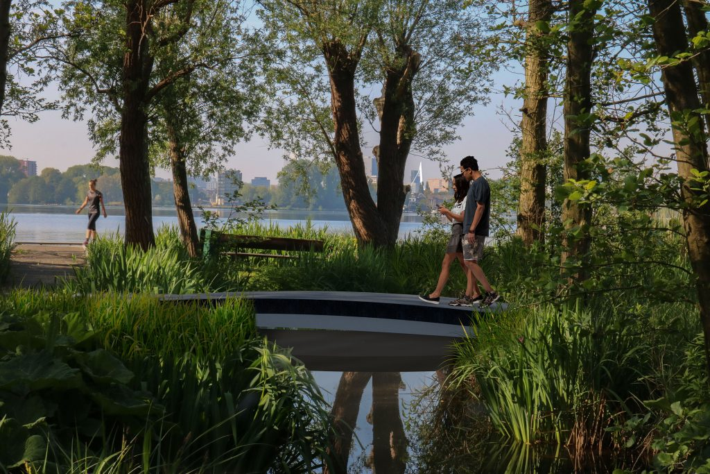 Sustainable 3D printed footbridge to be built in Rotterdam using DSM thermoplastics - 3D Printing Industry