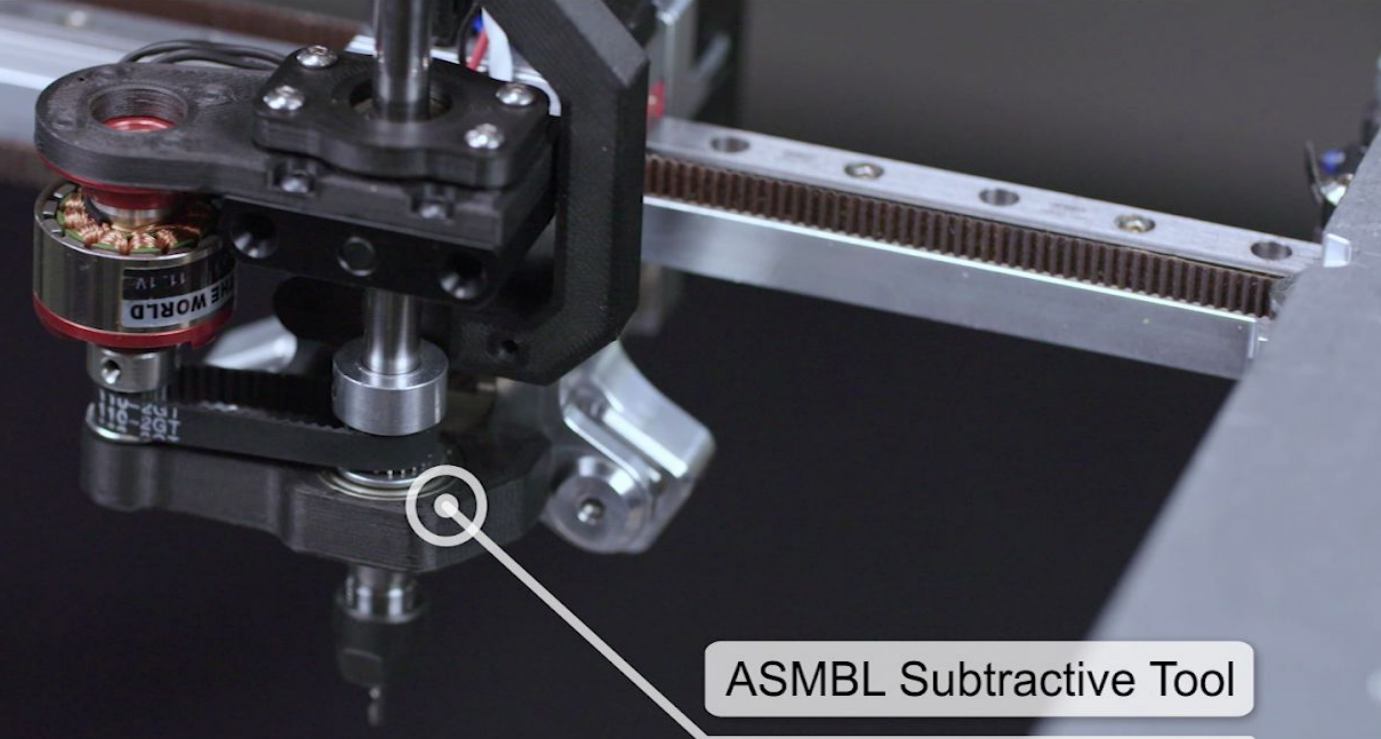 The ASMBL subtractive toolhead. Photo via E3D.