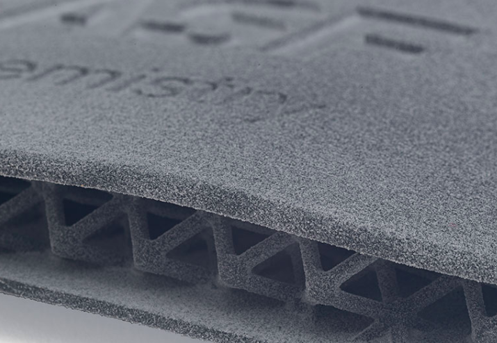 BASF's Ultrasint TPU01 material is now available via the co-branded website. Its properties lend itself to the creation of elastomeric functional parts. Photo via Shapeways.