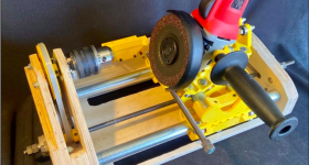 Franz and Pearce's invention, the open-source grinding machine (pictured). Image via MDPI.