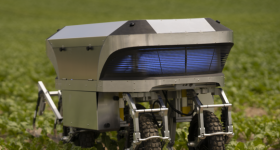 Featured image shows the Zurich team's automated robotic weed removal system in action. Image via Rowesys.