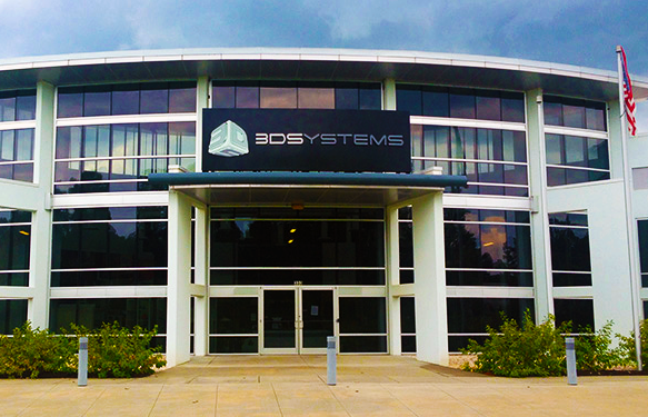 3D Systems' headquarters in South Carolina.