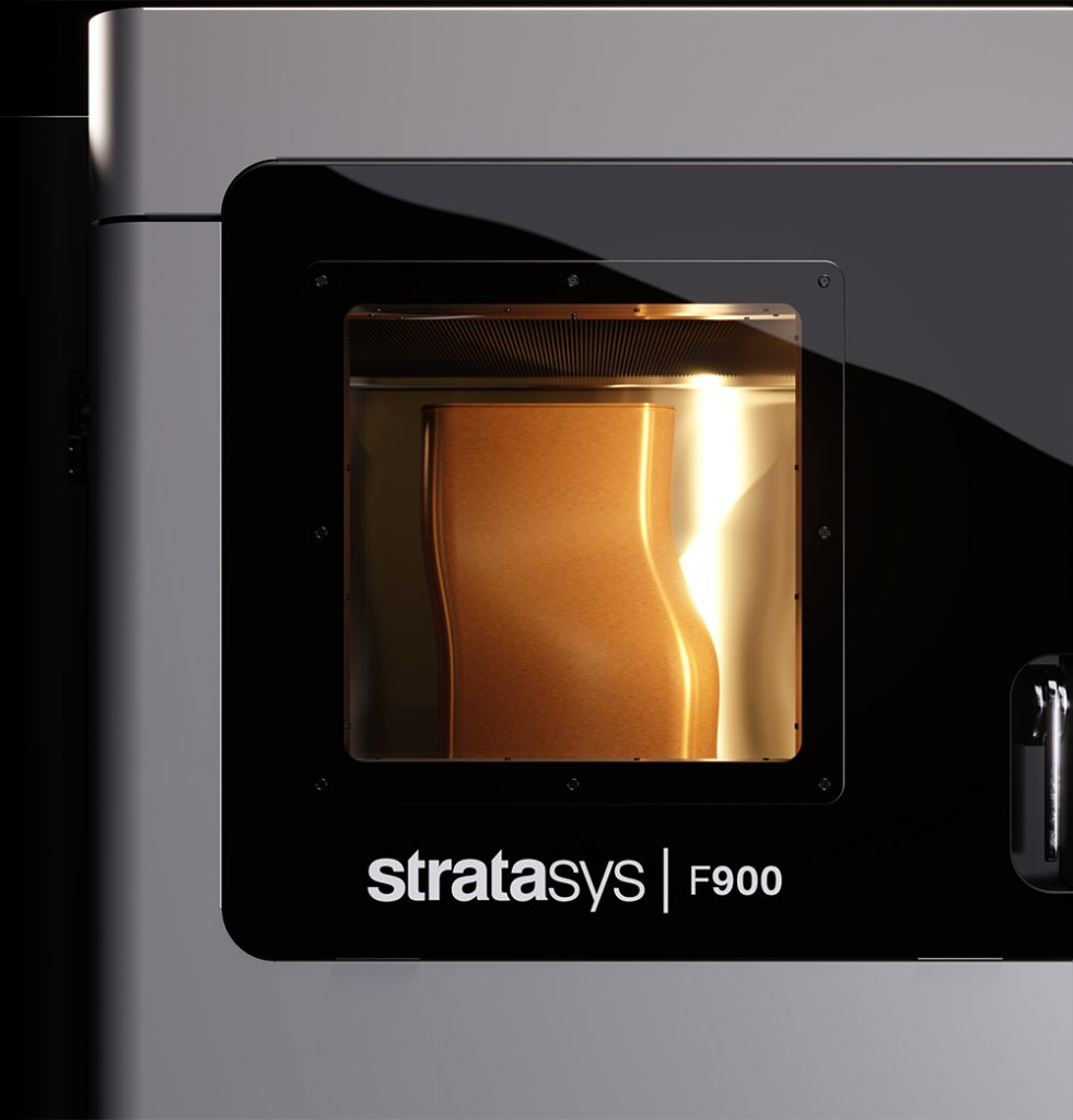 Stratasys F900 3D printer. Photo via Stratasys.