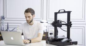 Featured image shows someone using a Creality CR6-SE 3D printer. Photo via Creality.