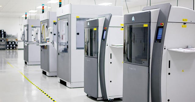 3D Systems is restructuring its business in an attempt to save $100 million over the next 18 months. Photo via 3D Systems.