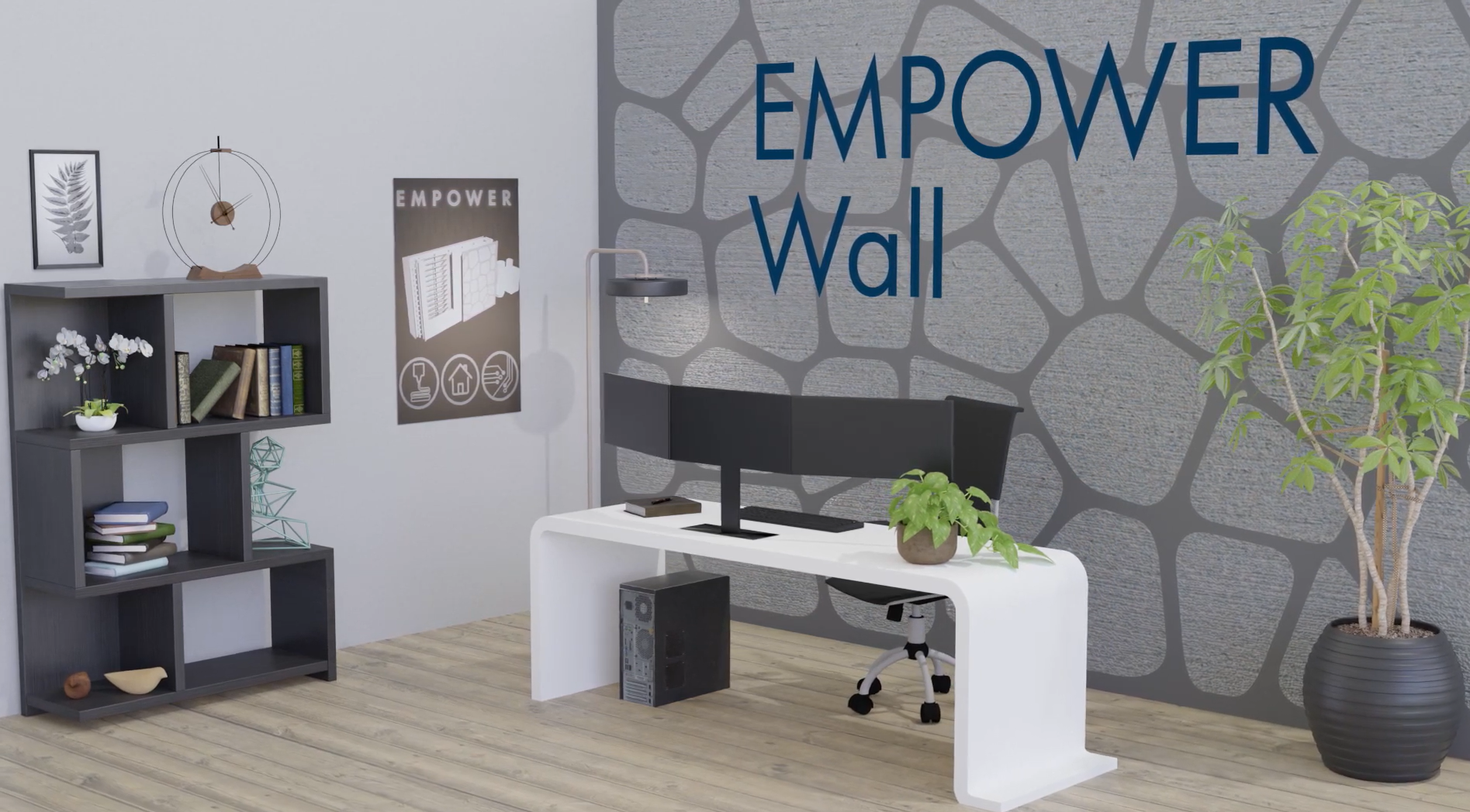 EMPOWER will be fitted into two office spaces sometime in 2021. Image via ORNL.