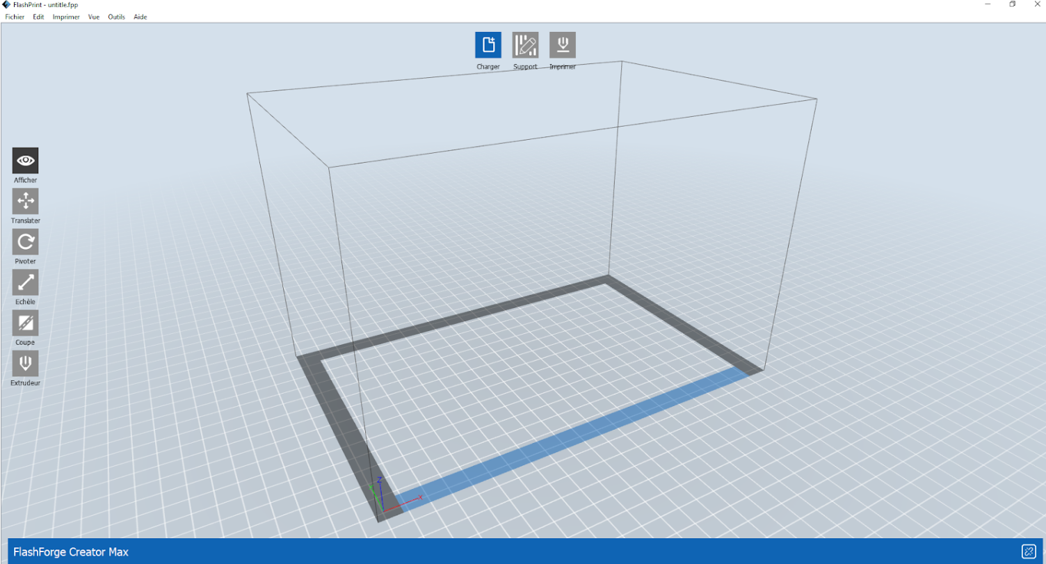 FlashPrint slicer UI. Image by 3D Printing Industry.