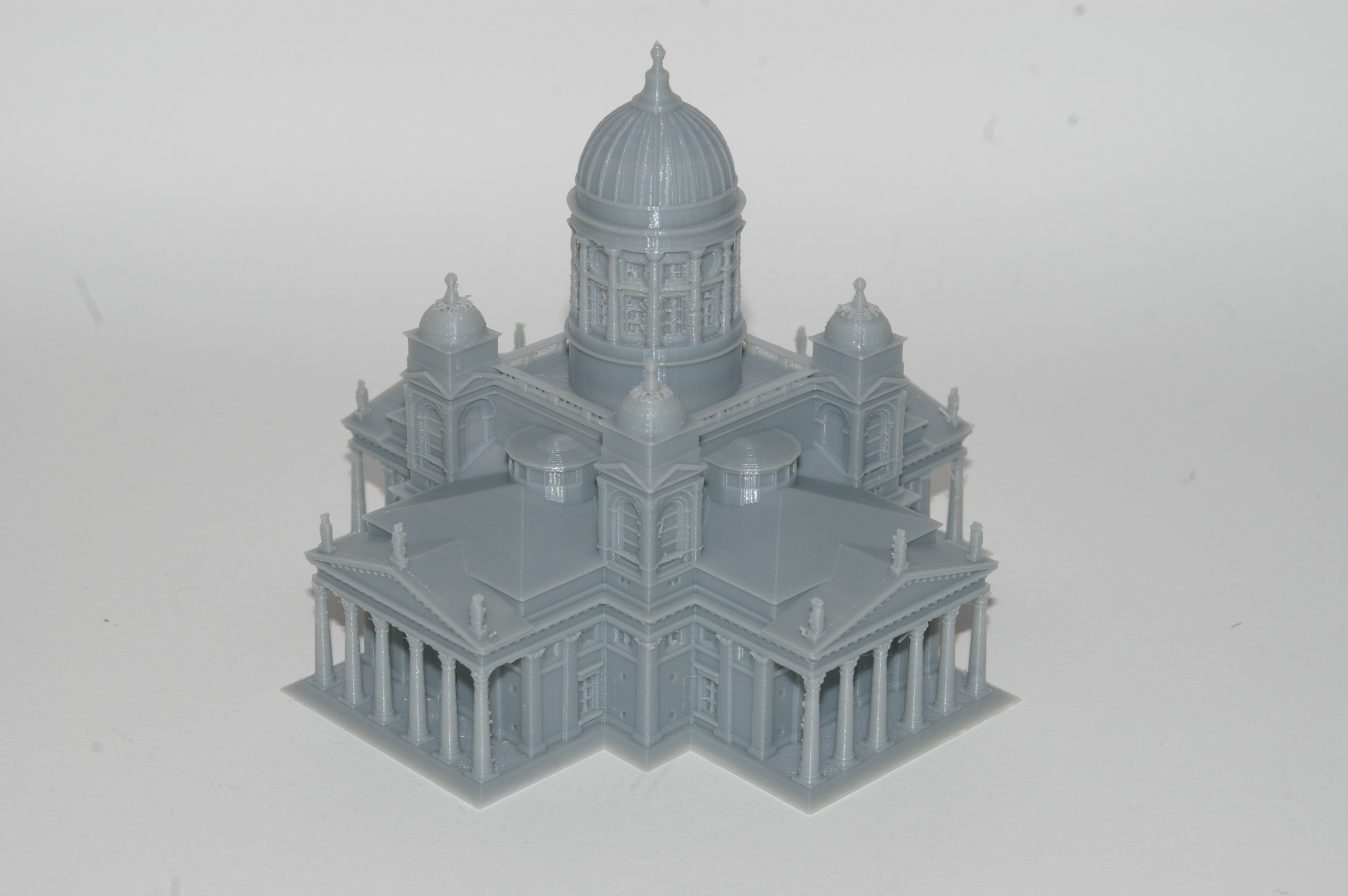 The Helsinki Cathedral test. Photo by 3D Printing Industry.