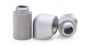 3D printed Inconel 718 parts. Photo via ExOne.