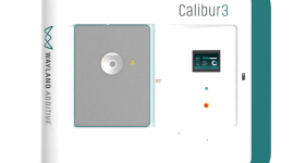The Calibur 3 NeuBeam 3D printer. Photo via Wayland Additive.