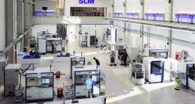 SLM Solutions saw its revenue increase by 90 percent during the first half of 2020. Photo via SLM Solutions.