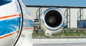 The ATF3-6 turbofan engine. Photo via Honeywell Aerospace.
