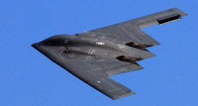 The B-2 Stealth Bomber. Photo via U.S. Air Force.