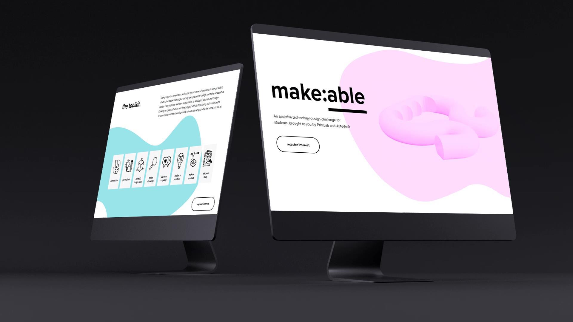 The make:able challenge. Image via PrintLab.