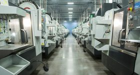 Featured image shows a Protolabs CNC machining facility. Photo via Protolabs.