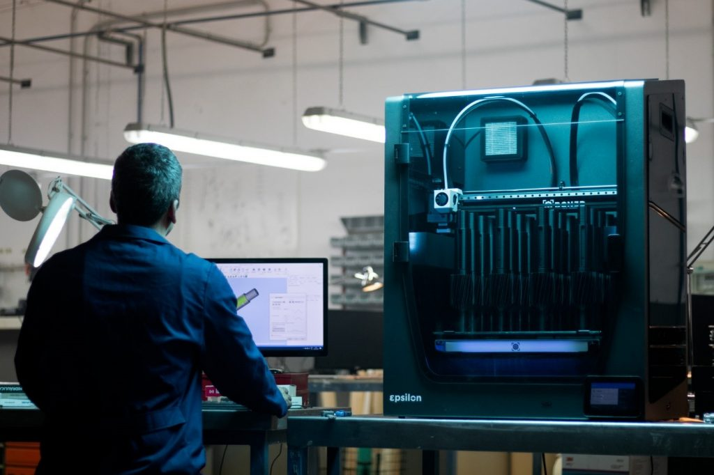 BCN3D's 3D printers use an Independent Dual Extrusion (IDEX) system. Image via BCN3D.
