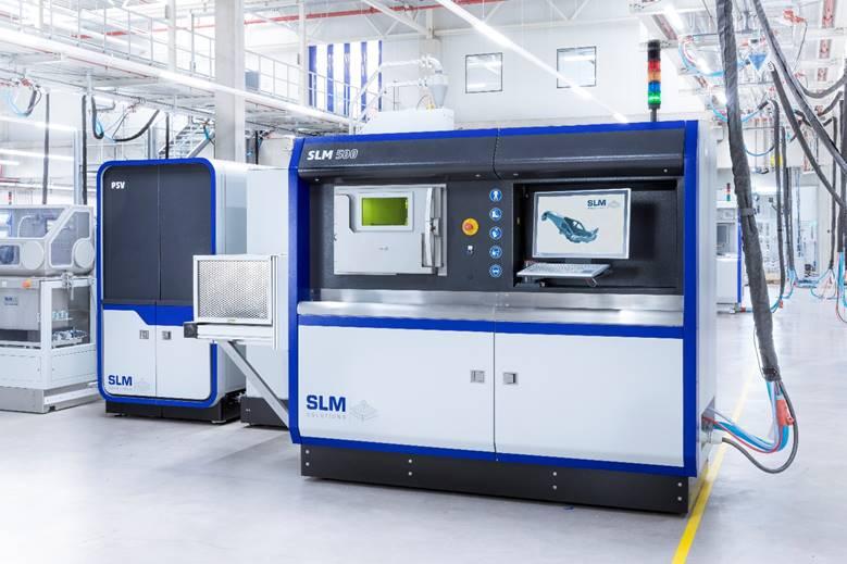 SLM Solutions' SLM500 3D Printer. Photo via SLM Solutions.