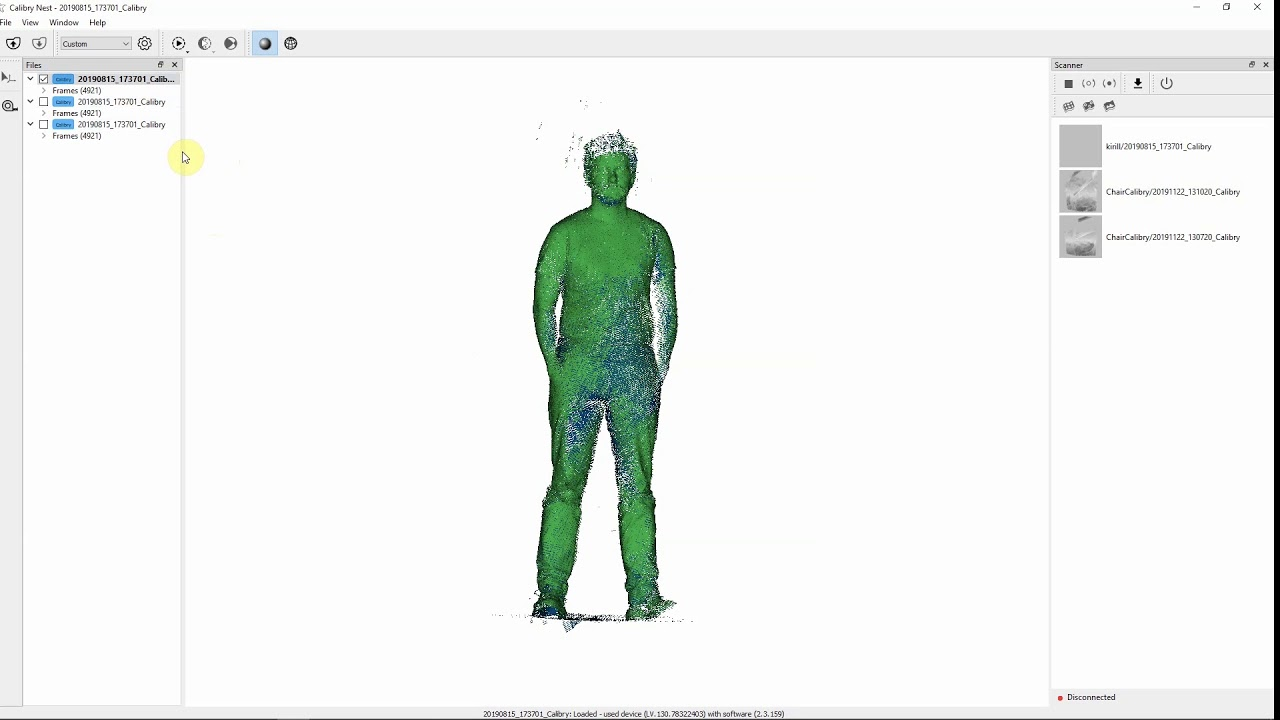 Calibry Nest allows users to manipulate and finalize 3D scans to prepare them for 3D printing. Image via Thor3D.