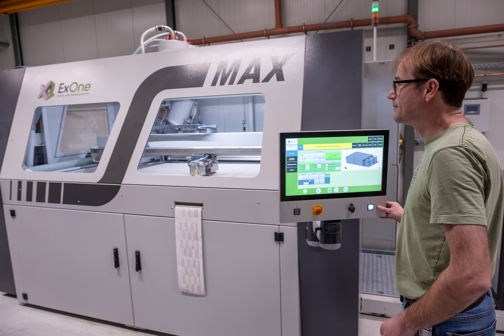 ExOne has collaborated with several industry partners to expand the applications of its binder jetting 3D printing certification technology. Image via ExOne.