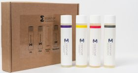 Essentium has collaborated with Thought3D's product line Magigoo to launch tailor made 3D printing adhesives. Photo via Rainemakers