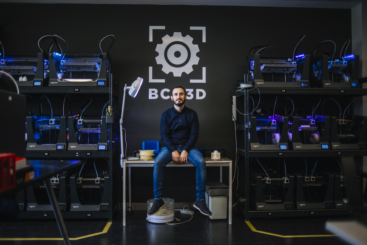 BCN3D's CEO Xavier Martínez Faneca explained the firm's newly-integrated Epsilon range in an interview with 3D Printing Industry. Picture via BCN3D.