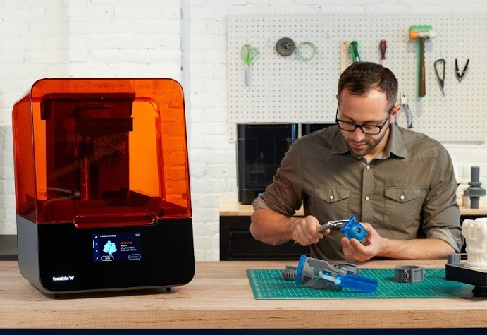 Formlabs has worked with industry partners for the last year to optimize its newest machine for end-use applications. Image via Formlabs.