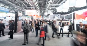 Formnext provides an opportunity to network with others in the additive manufacturing marketspace. Photo via Formnext.