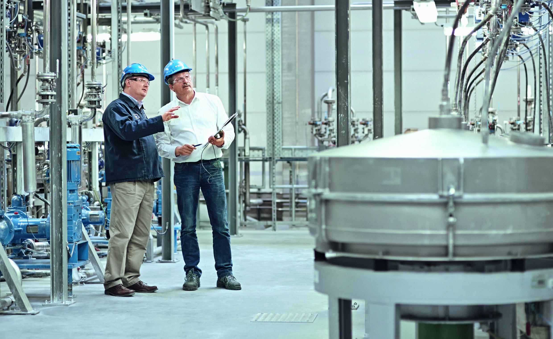 Inside an ALTANA ECKART production facility. Photo via ECKART.