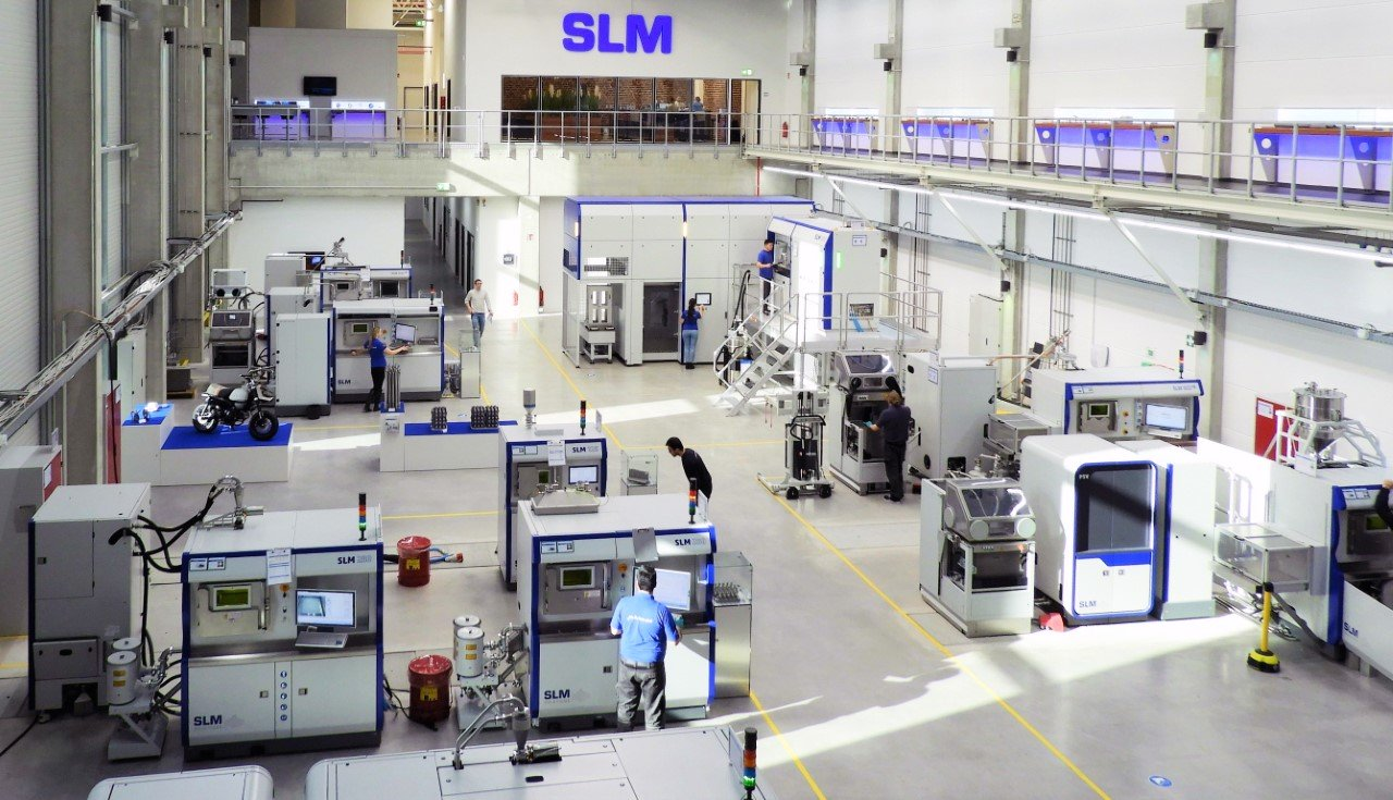 Sartori has acquired an SLM 280 system from metal 3D printer manufacturer SLM Solutions. Photo via SLM Solutions.