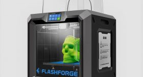 The FlashForge Guider IIS 3D printer. Photo via FlashForge.