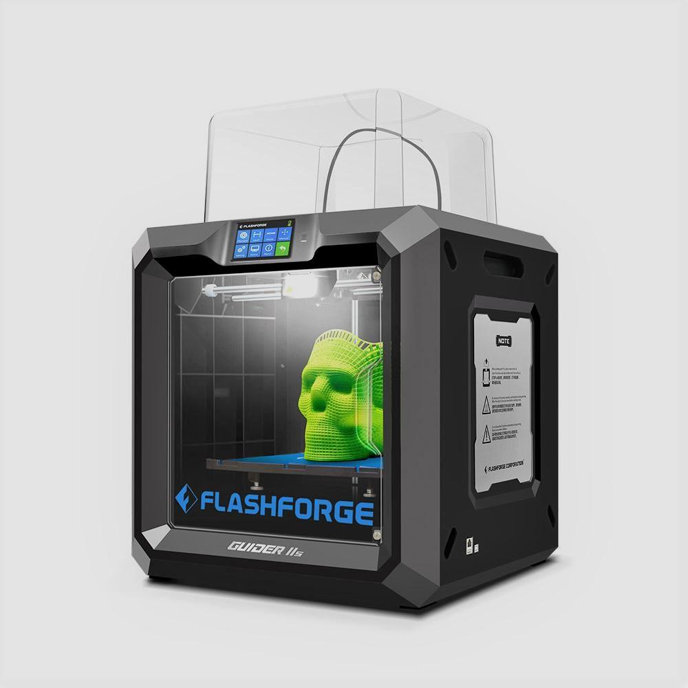 The FlashForge Guider IIS 3D printer. Photo via FlashForge.